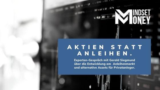 Aktien statt Anleihen für Privatanleger