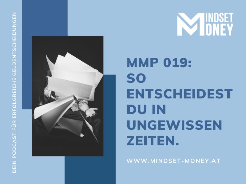 MMP 019 – Entscheiden unter Ungewissheit